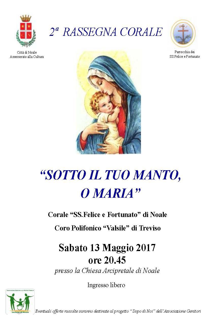 Manifesto Concerto 13 Maggio 2017 - con Loghi