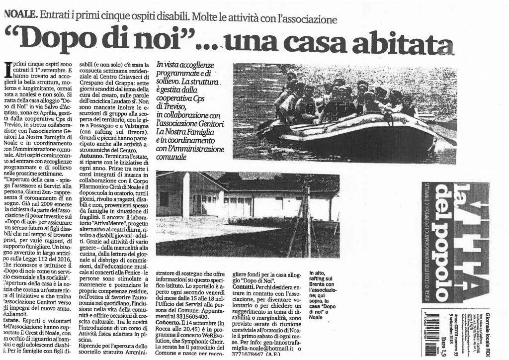 LA VITA DEL POPOLO 09.09.18 2
